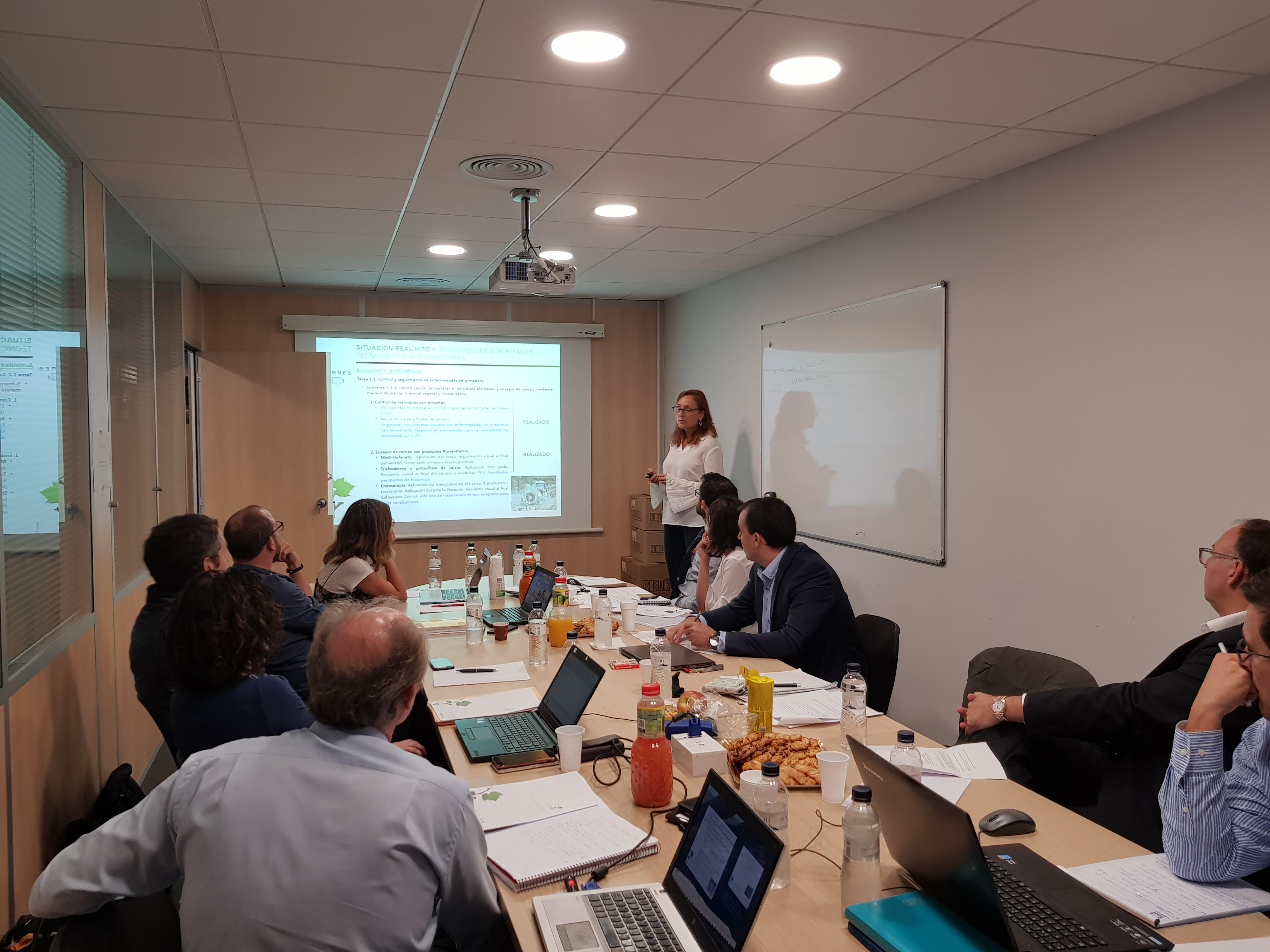 05 10 2017 reuni n segundo comit ejecutivo globalviti for Oficinas de trabajo temporal en barcelona